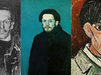Los autorretratos de Picasso