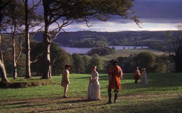 Barry Lyndon rodada con luz natural
