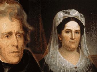 Amores con trampa. Amores verdaderos: Andrew Jackson y Rachel Donelson