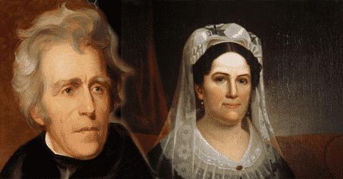 Andrew Jackson y Rachel Donaldso, historia de amor
