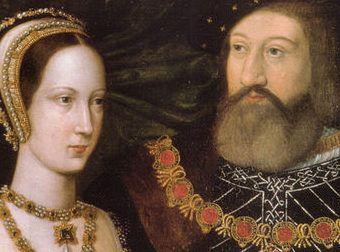 La princesa Maria y el duque de Suffolk