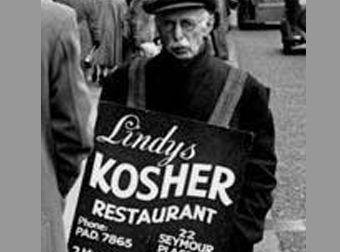 El hombre-sándwich y los primeros recursos publicitarios de la Historia