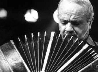 Astor Piazzola en la catedral, tango y bandoneón