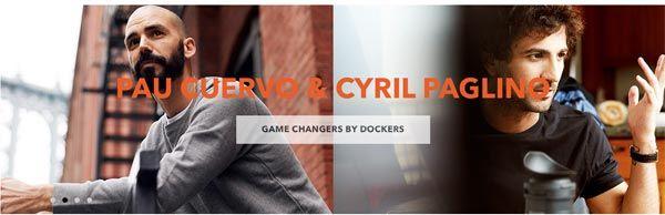Dockers, refleja el emprendimiento en su campaña: Game Changers