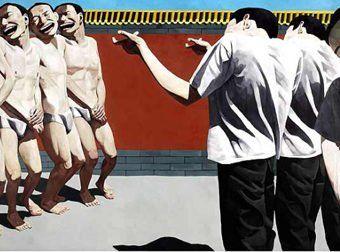 Ejecución, el cuadro de Yue Minjun