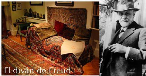 12 curiosidades sobre freud actually notes magazine for Divan de sigmund freud