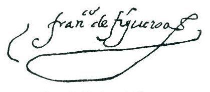 Firma de Quevedo