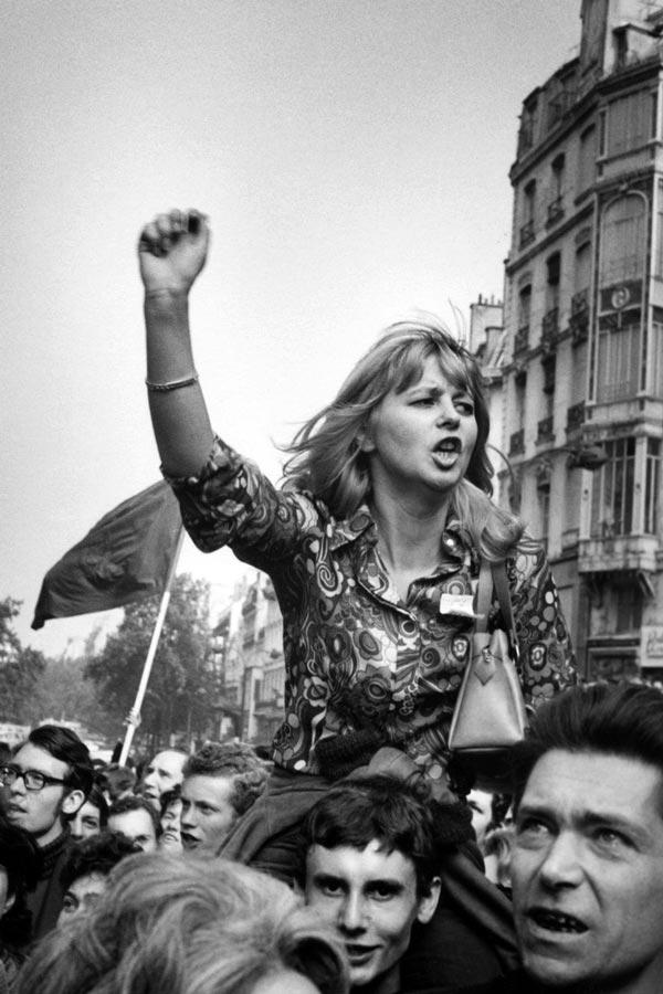 Manifestante. Mayo 68