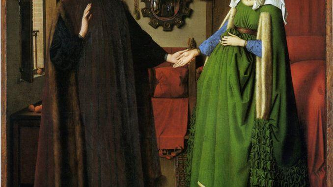 Explicación de cuadro del matrimonio Arnolfini