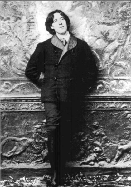 Oscar Wilde en su viaje a Nueva York