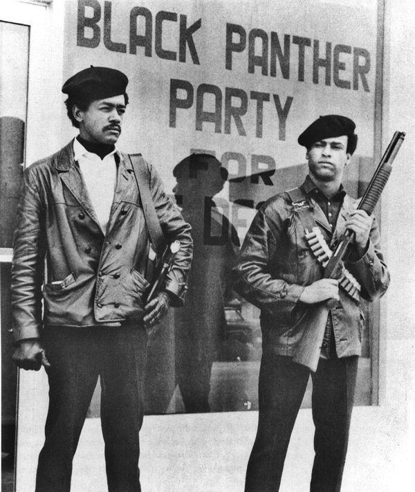 Panteras Negras armadas