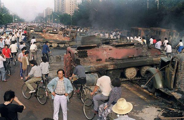 Imágenes de Tiananmen: Cómo acabó la revuelta