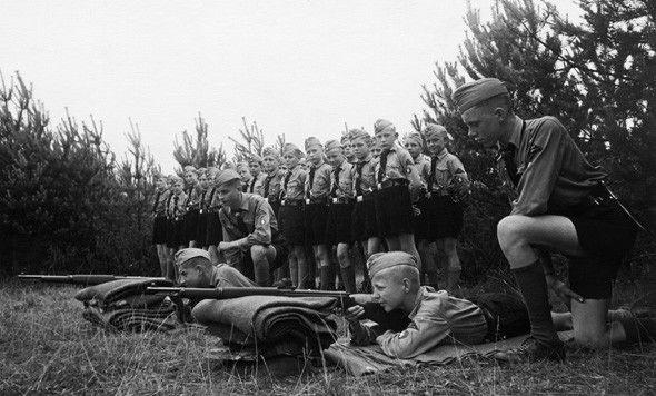 Juventudes Hitlerianas. Entrenamiento militar