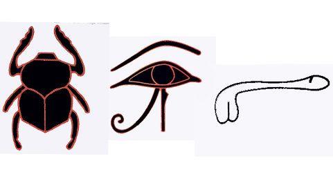 Jeroglíficos Egipcios y la piedra Rosetta