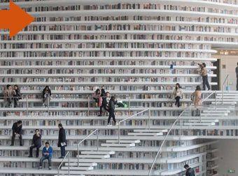 La impresionante biblioteca china que quizá no lo sea tanto