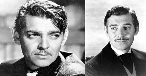 El bigote de Clark Gable