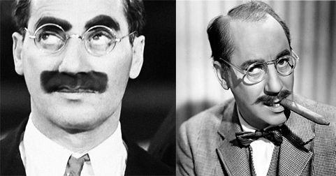El bigote falso de Groucho Marx, y el auténtico