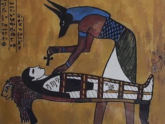 Las cartas de los egipcios escritas a sus muertos