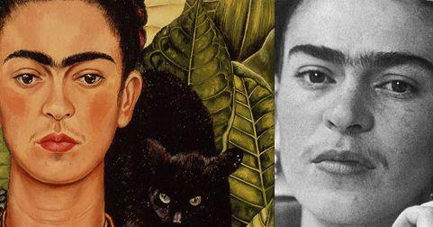El bigotito de Frida Kahlo