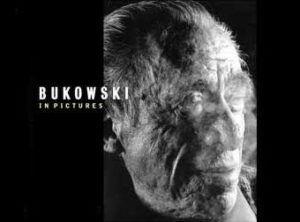 """Charles Bukowski. 1991 Portada de """"Bukowski Retratado"""" de Helnwein San Francisco Museum of Modern Art"""