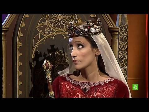 La conversación de CRISTÓBAL COLÓN con la REINA ISABEL