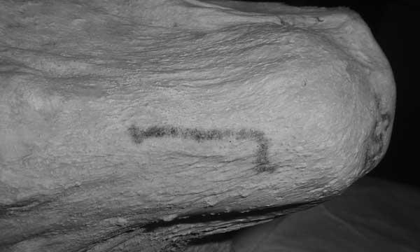 Mujer de Gebelein y sus tatuajes