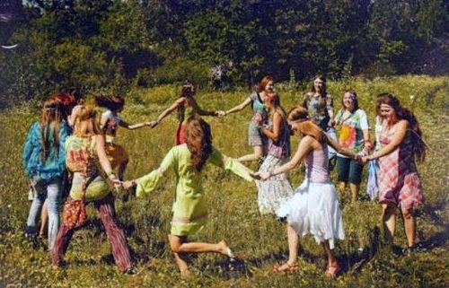 cultura hippie. simbologia