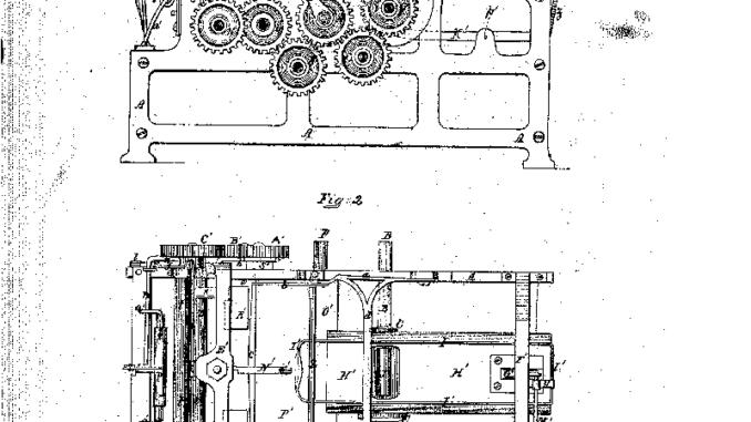 patente de la máquina fabricante de bolsas de papel