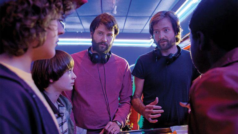 Stranger Things, set de rodaje con los hermanos Duffer