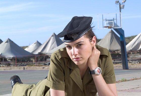 Gal Gadot en el ejercito de Israel