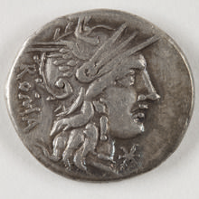 moneda romana digitalizada