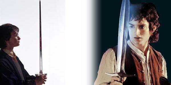 ¿Harry Potter es como Daniel Radcliffe? ¿Frodo es como Elijah Wood?