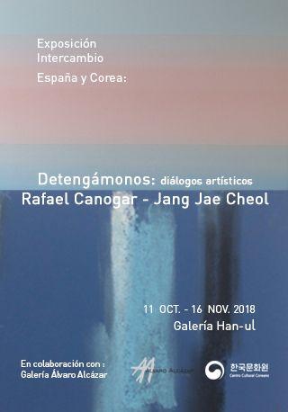 Arte abstracto: Rafael Canogar y Jang Jae Cheol en el Centro Cultural Coreano