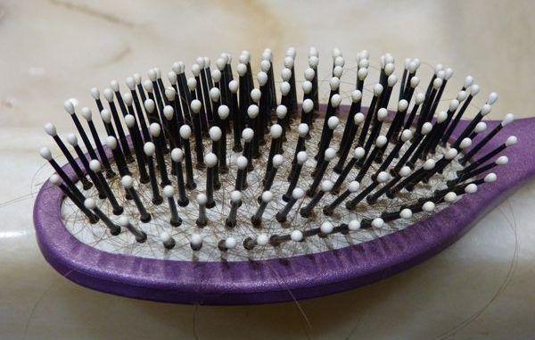 Peinado de la pérdida de cabello