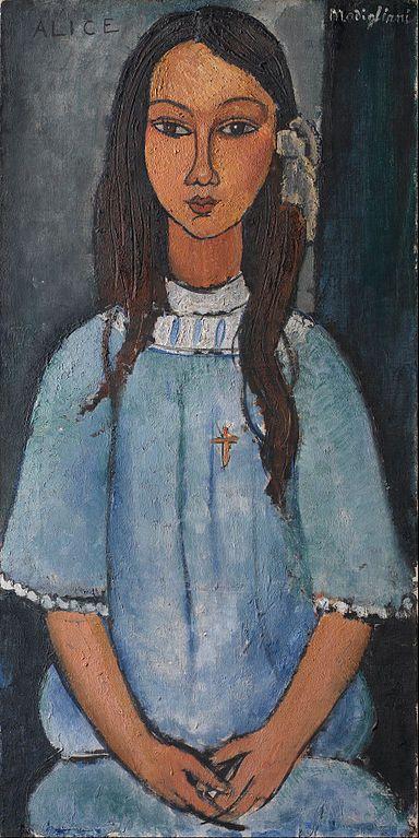 Modigliani y Alice