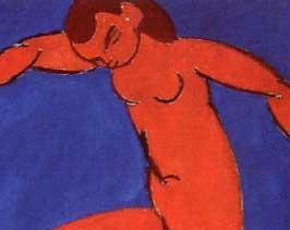 la danza de-Matisse, las figuras-cortadas