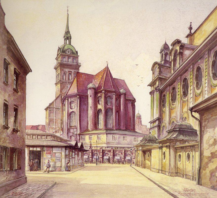 Iglesia de San Pedro Munich 1914