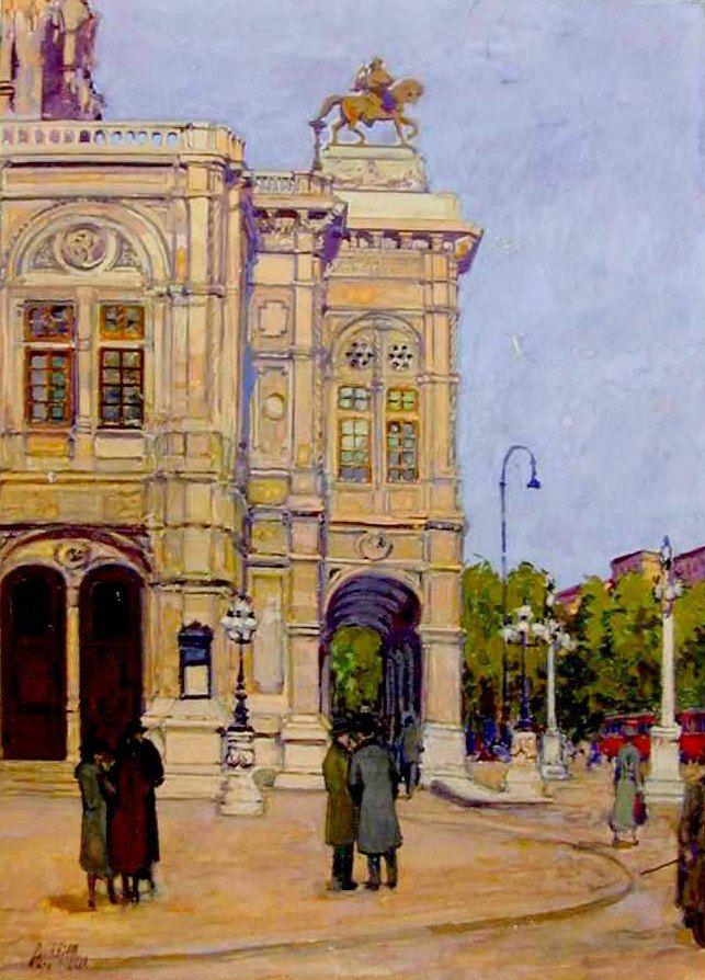 Ópera de Viena. 1912
