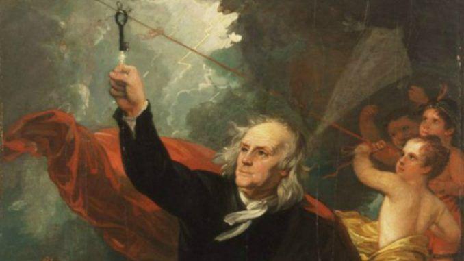 Benjamin Franklin inventor del Pararrayos