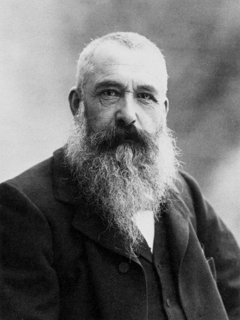 Claude Monet. 1899 Fotografiado por Felix Nadar