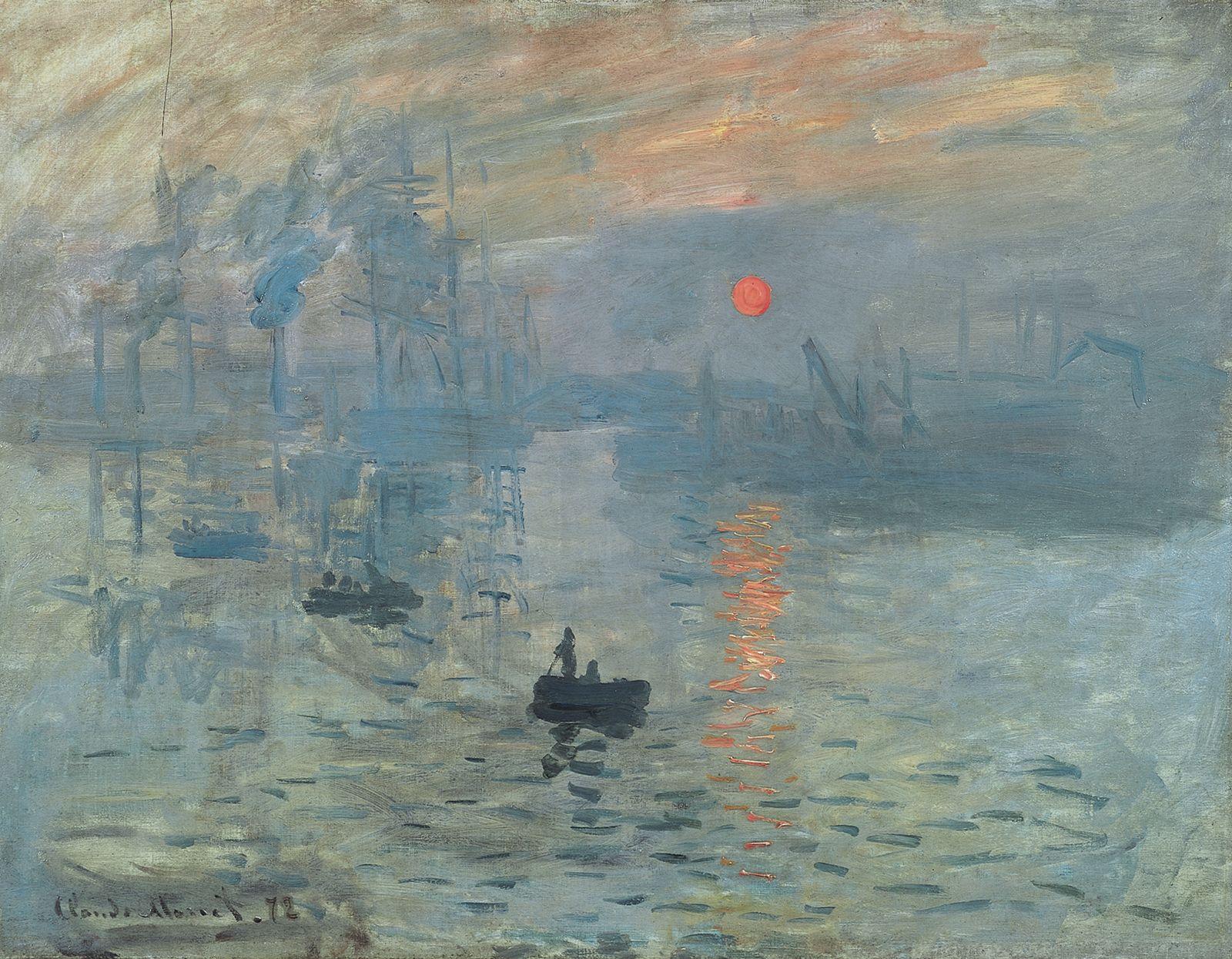 Claude Monet, Impresión, sol naciente (1872)