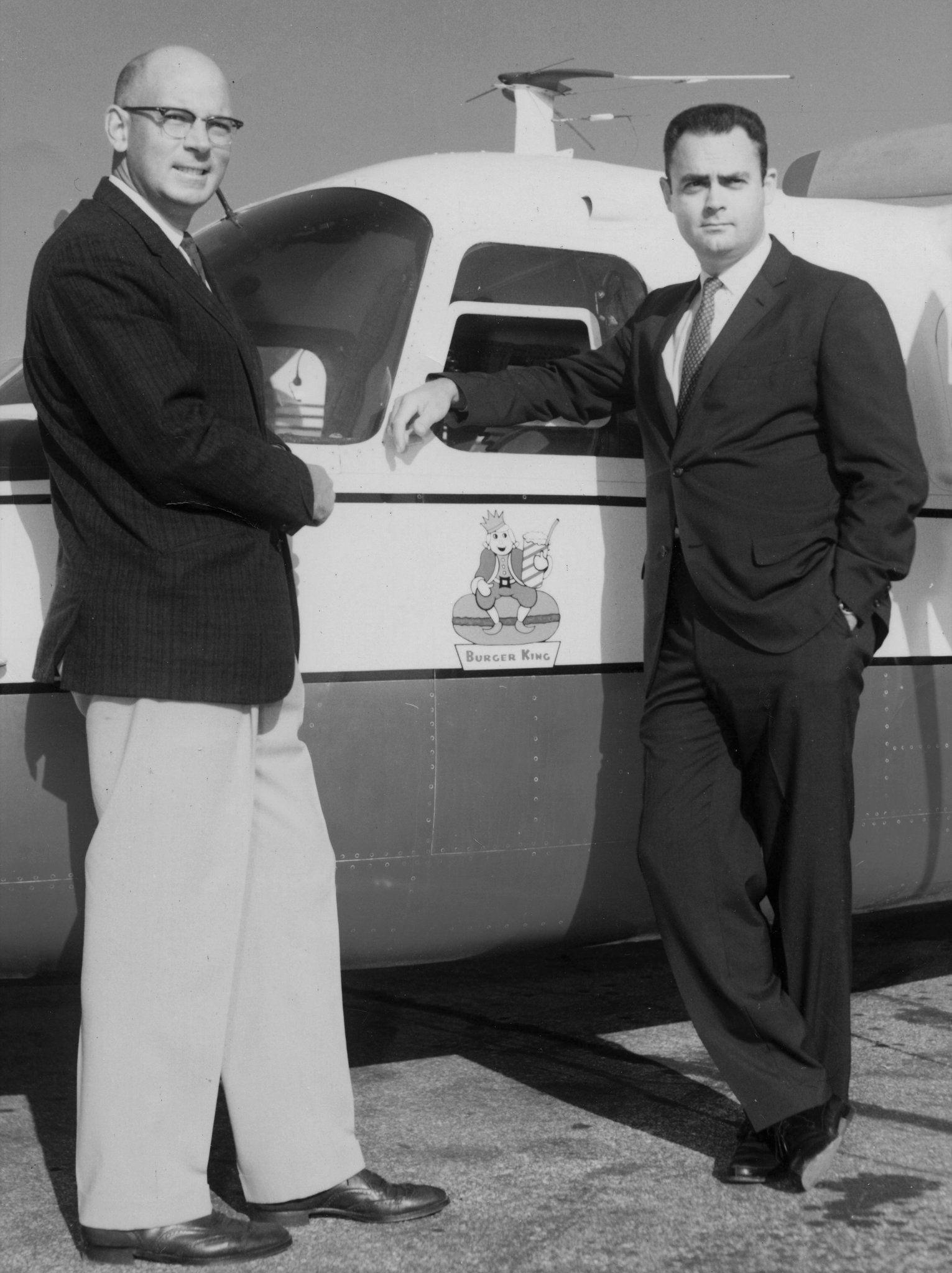 James McLamore y David Edgerton