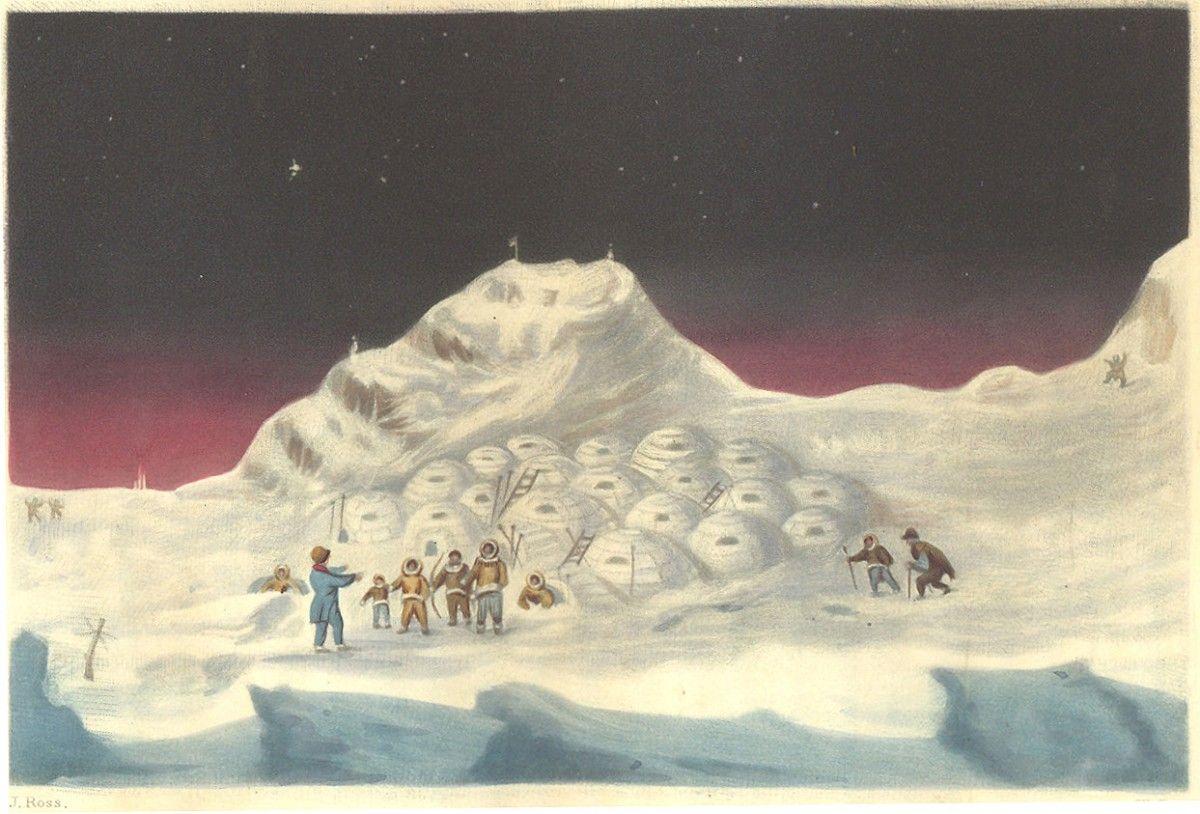 John Ross en la búsqueda del paso del noroeste