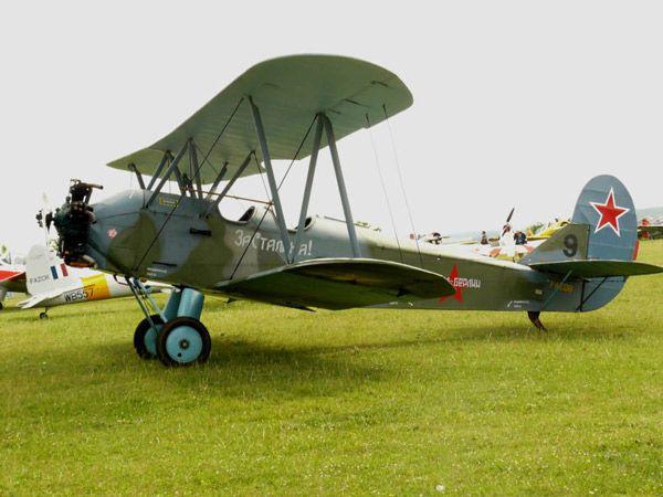 El biplano Polikarpov Po-2, el avión pilotado por las Brujas Nocturnas.
