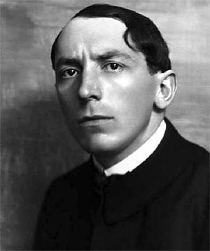 El artista futurista Umberto Boccioni
