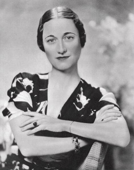 Wallis Simpson en 1936