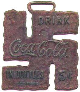 la swastika de coca cola