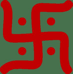 esvástica Hindu.