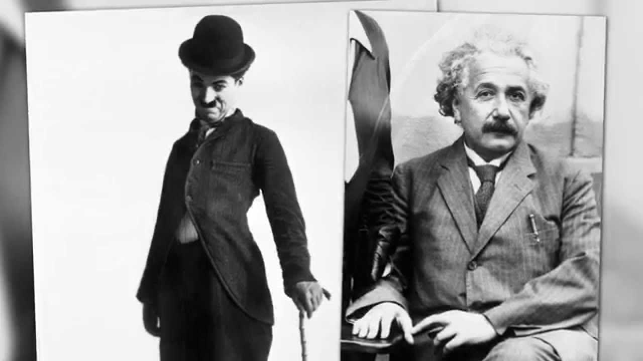 La anécdota de Chaplin y Einstein