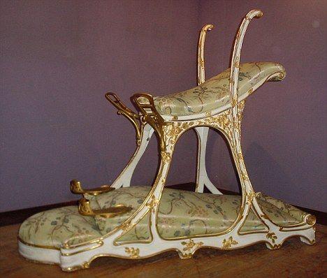 siege d'amour o silla del amor de Eduardo VII